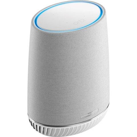NETGEAR Orbi Voice Smart Speaker & WiFi Mesh Extender with Amazon Alexa Built-in (RBS40V)