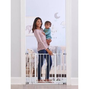 Regalo Wall Safe Extra Wide Walk Through Safety Gate : Target