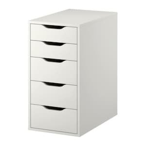 ALEX Drawer unit - white - IKEA