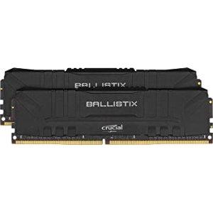 $115.98Crucial Ballistix 32GB (2 x 16GB) DDR4 3200 C16 套装