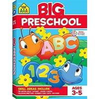 School Zone 幼儿园小朋友练习册, 3-5岁