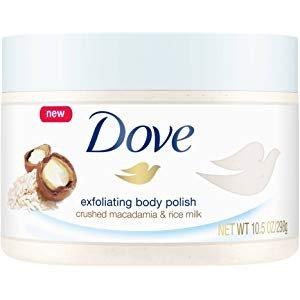 Amazon.com : Dove Exfoliating Body Polish Body Scrub Macadamia & Rice Milk 10.5 oz (2 pack) : Gateway