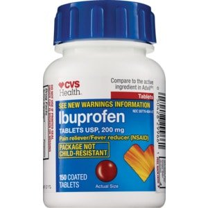 CVS Health Ibuprofen 200 mg Coated Tablets | CVS.com