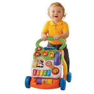 史低价 $19.99VTech 婴儿音乐学步车