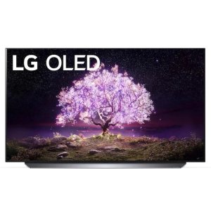 LG C1 55 inch Class 4K Smart OLED TV with AI ThinQ