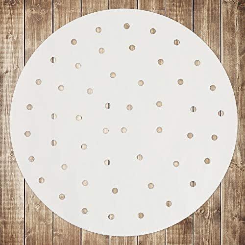 EBIGIC 9英寸空气炸锅垫纸 100张