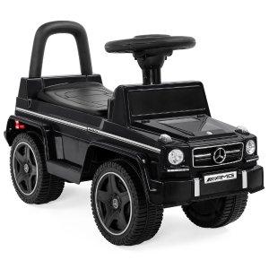 儿童豪华梅赛德斯奔驰 Mercedes G63 敞篷脚踏车 座位可当收纳