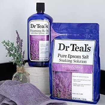 Dr Teal's 薰衣草沐浴露热卖 舒缓安神 让洗澡更放松