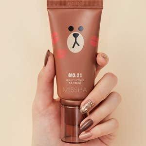 $12Line Friends Edition Missha M Perfect cover BB Cream