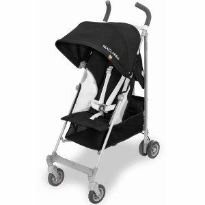 Maclaren 2018 / 2019 Globetrotter Stroller - Black/White