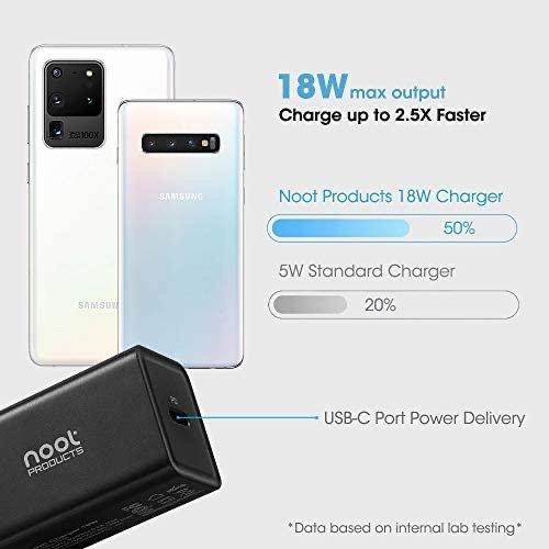 NOOT iPhone12 18W Type-C 快充充电器