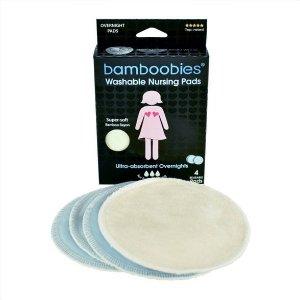 Bamboobies Overnight Washable Nursing Pads - 4pk : Target