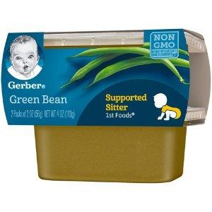 Gerber 1st Foods Baby Food Green Bean - 2oz (2ct) : Target