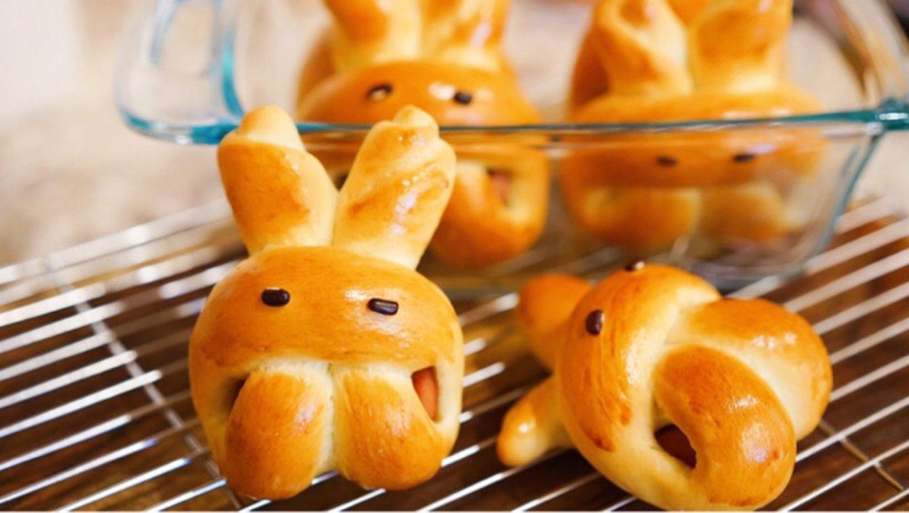 小兔子香肠包 | 这么萌的小兔子🐰,我下不去嘴啊
