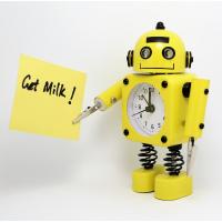 Betus 机器人闹钟 带眼睛灯和手夹