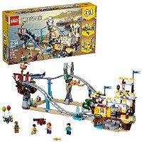 Lego Creator 3合1系列 海盗过山车31084,3种搭建方式