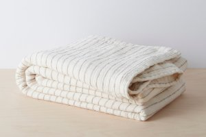 Organic Stripe Blanket | Allswell Home
