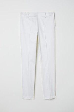 Slacks - White - Ladies | H&M US