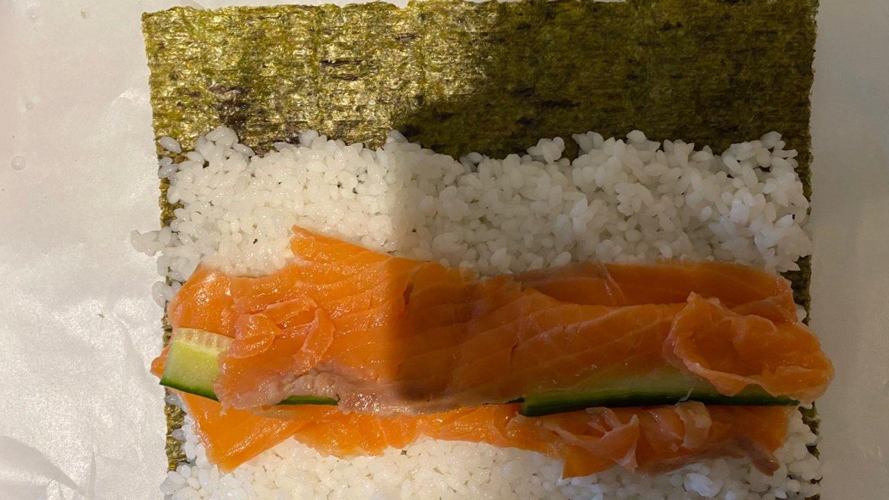 自制寿司🍣DIY 第一弹