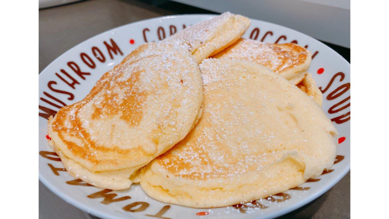 舒芙蕾松饼🥞早餐的浪漫💕 私藏配方 厨房新手福利 烘焙练习
