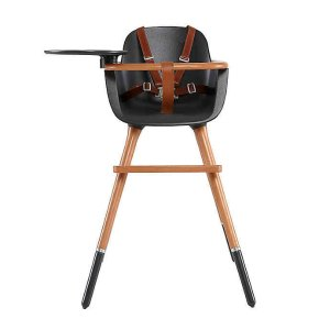 Micuna® OVO Max City Convertible High Chair in Black | Bed Bath & Beyond