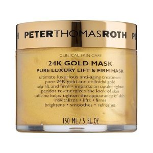 24K Gold Mask Pure Luxury Lift & Firm Mask - Peter Thomas Roth | Sephora