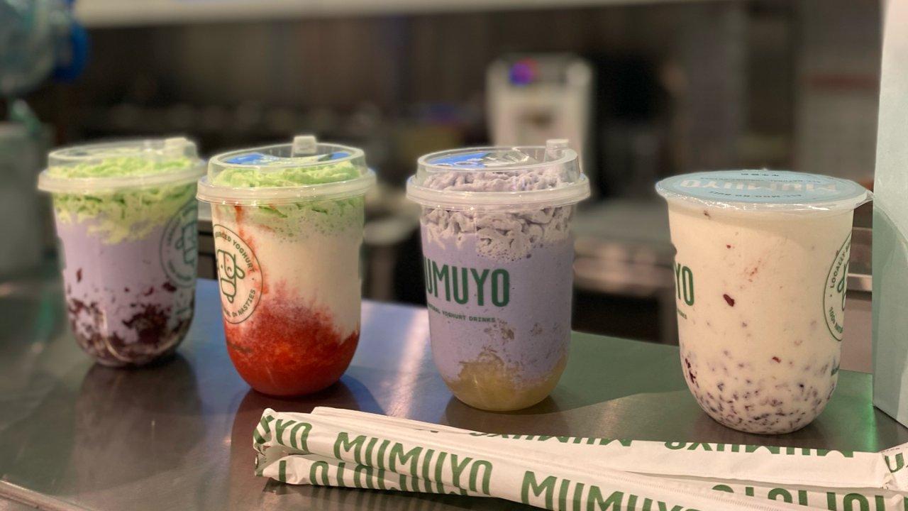 我的私藏奶茶店|QV里最好喝的紫米酸奶