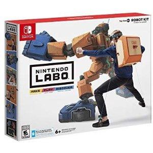 Nintendo Labo Robot Kit 纸板游戏套装