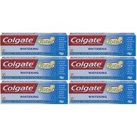 Colgate Total 美白凝胶牙膏 6支装