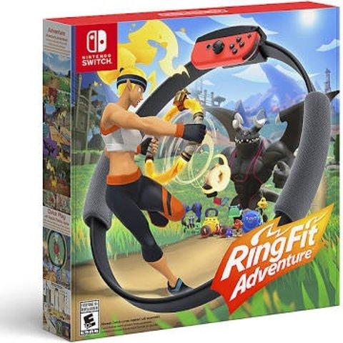 $63.99 (原价$79.99)《健身环大冒险》Switch 实体版, 新用户福利