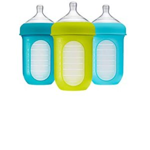 Boon, NURSH Reusable Silicone Pouch Bottle