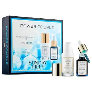 Power Couple: Lactic Acid and Retinol Kit - SUNDAY RILEY | Sephora