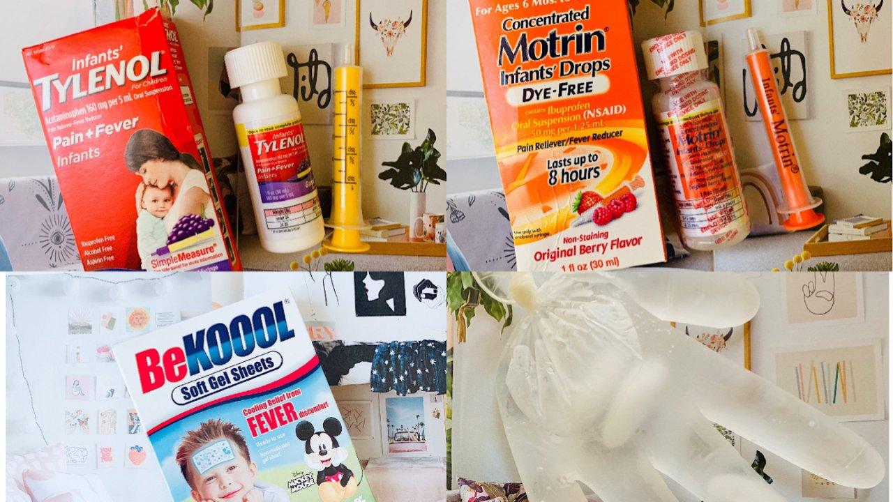 婴幼儿护理之发烧篇 | 家庭备药及退烧方法