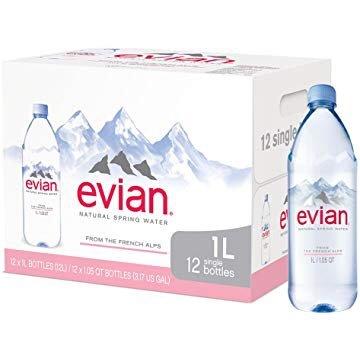 天然矿泉水 1升装 共12瓶好价回归