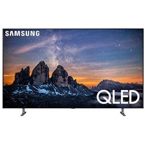 Samsung QN82Q80RAFXZA Flat 82-Inch QLED 4K Q80 Series Ultra HD Smart TV with HDR and Alexa Compatibility