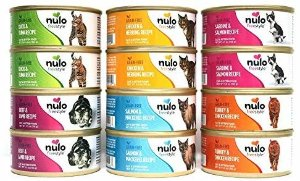 Amazon.com : Nulo Freestyle Grain Free Wet Cat Food Variety Pack - 6 Flavors - 5.5 Oz Each (12 Total Cans) : Pet Supplies