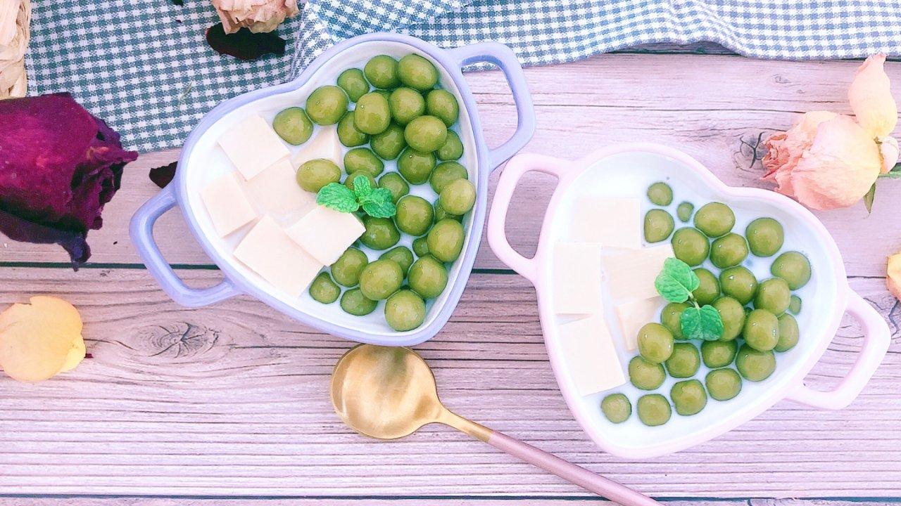 自制美食界神仙CP甜品:抹茶珍珠➕奶茶奶冻,美味又治愈的甜品你也可以在家做!