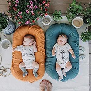 Amazon.com : Snuggle Me Organic   Patented Sensory Lounger for Baby   organic cotton, virgin polyester fill : Gateway