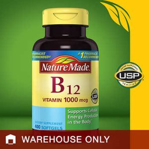 Nature Made Vitamin B12 1000 mcg., 400 Softgels