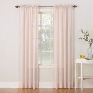 No. 918 裸粉色纱帘