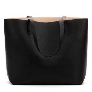 Classic Structured Leather Tote | Cuyana