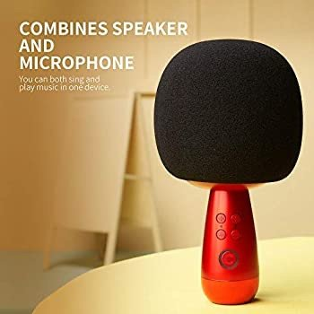CALF 唱吧小巨蛋无线麦克风, 手机嗨歌必备 iPhone/安卓通用