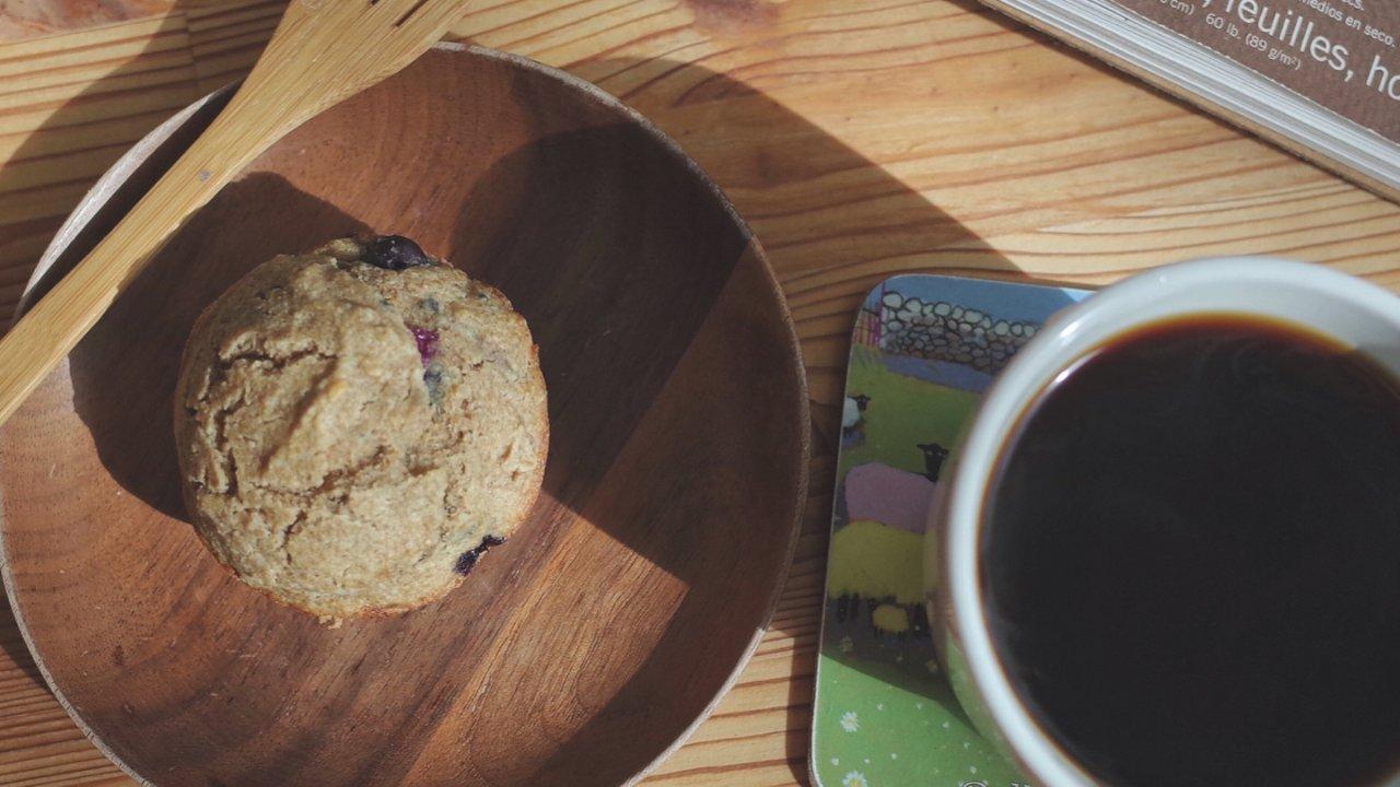 手把手和你一起做吃了不怕胖的Blueberry muffin(低GI,GF*)