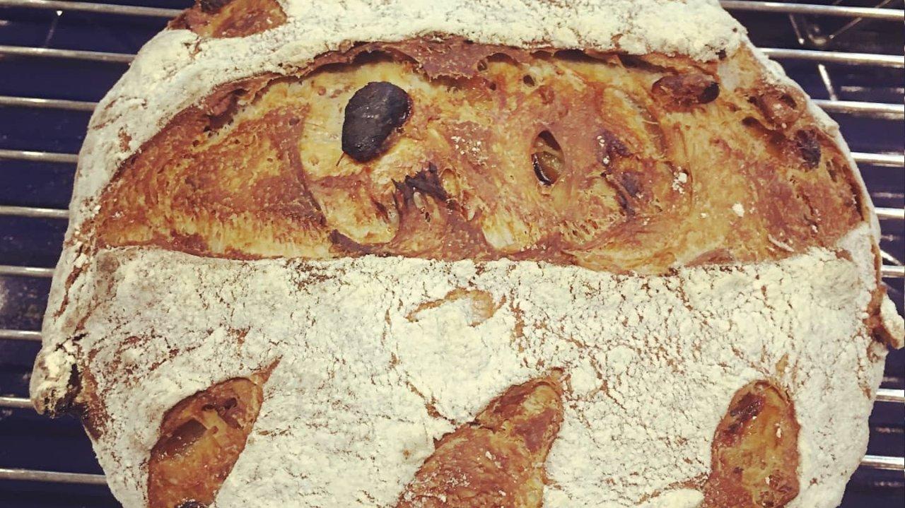 宅家没事整面包,免揉