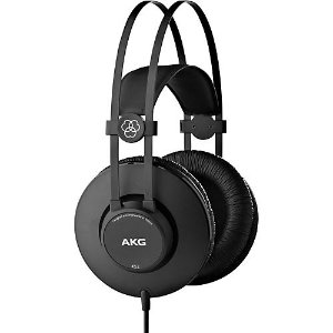 AKG K52 封闭式监听耳机