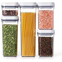 OXO 密封式食物储存罐5件套