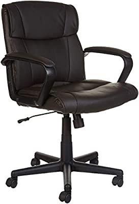 可旋转皮革电脑椅