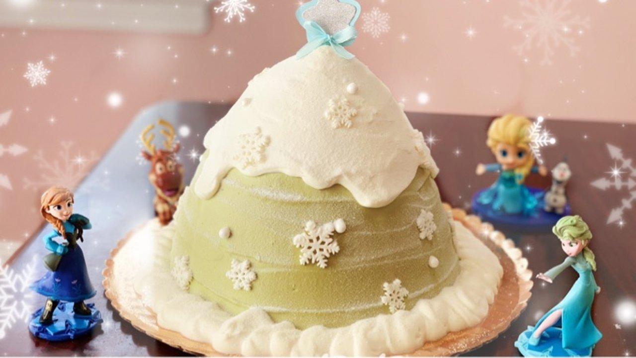 圣诞树蜂蜜蛋糕