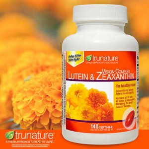 trunature Vision Complex Lutein & Zeaxanthin, 140 Softgels