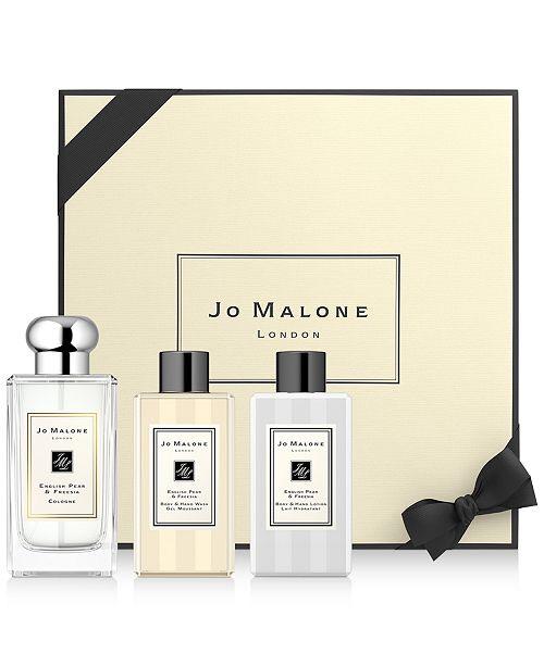 祖马龙 Jo Malone London 3-Pc. The Golden Gift Set & Reviews - All Perfume - Beauty - Macy's